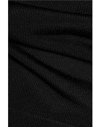 Vanessa Seward Black Knitted Top