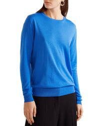 Stella McCartney - Blue Wool Sweater - Lyst