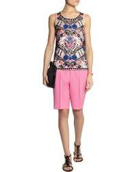 J.Crew - Multicolor Collection Eaton Stretch-wool Shorts - Lyst