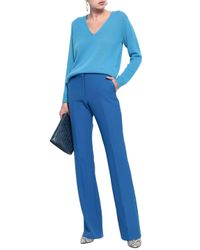 Theory Blue Woman Adrianna Cashmere Sweater Azure