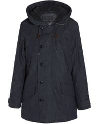 J.Crew | Blue Collection Hooded Denim Parka | Lyst