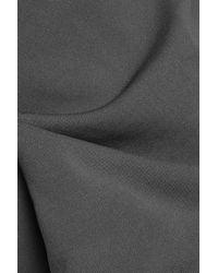 Marni Gray Stretch-jersey Turtleneck Top Grey Green