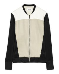 Helmut Lang Black Jersey And Ponte Jacket