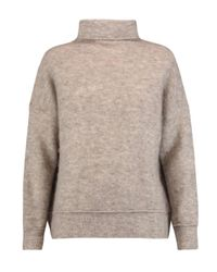 By Malene Birger Multicolor Soronco Brushed Knitted Turtleneck Sweater