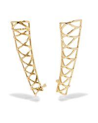 Noir Jewelry - Metallic Gold-tone Ear Cuffs - Lyst