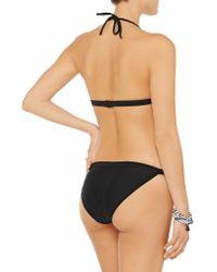 T By Alexander Wang | Black Low-rise Bikini Briefs | Lyst