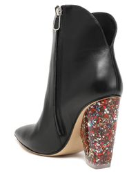 Paul Andrew Black Ankle Boots