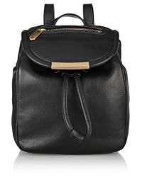 Marc By Marc Jacobs Black Luna Mini Leather Backpack