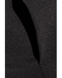 Rick Owens - Black Ala Level Paneled Stretch-cady Midi Dress - Lyst