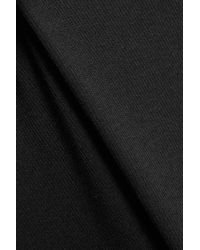 Skin - Black Stretch Pima Cotton And Modal-blend Nightdress - Lyst