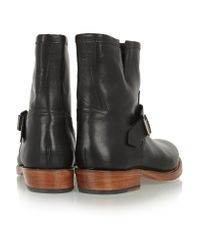 Grenson Black Erin Leather Ankle Boots