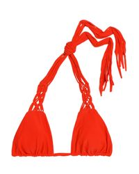 Mikoh Swimwear Woman Bikini Sets Orange