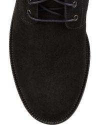 Rene Caovilla Black Embellished Suede Ankle Boots