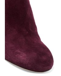 Rag & Bone | Purple Agnes Suede Ankle Boots | Lyst