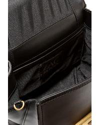 Zac Zac Posen Black Eartha Iconic Mini Leather Tote