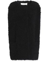 Marni Shearling Vest Black