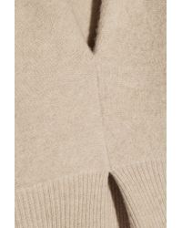 J.W.Anderson Natural Pleated Wool Sweater