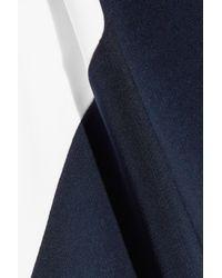 Cushnie et Ochs - Leah Color-block Stretch-knit Dress Midnight Blue - Lyst