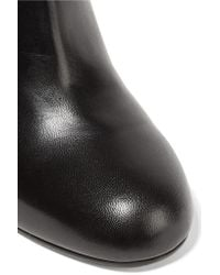 Marni - Black Leather Ankle Boots - Lyst