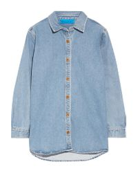 MiH Jeans Blue Denim Shirt