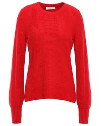 Tory Burch Knitted Sweater Red