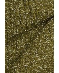 IRO Bouclé Knitted Sweater Army Green