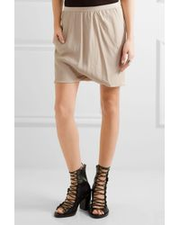 Rick Owens - Multicolor Buds Crepe Shorts - Lyst