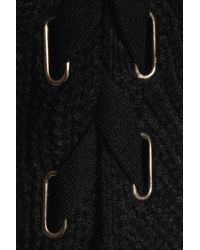 Line Black Cherie Ribbed Knit Sweater