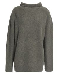 Vince - Gray Cashmere Sweater Grey Green - Lyst