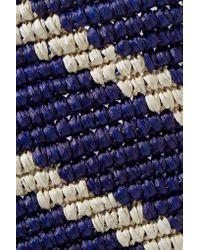 Sensi Studio - Blue Woven Toquilla Straw Tote - Lyst