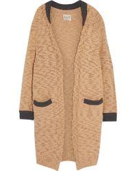 Sea | Natural Merino Wool-blend Cardigan | Lyst