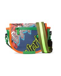 Marc By Marc Jacobs | Green X-body Coated Canvas Shoulder Bag | Lyst