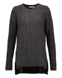 Autumn Cashmere | Gray Cable-knit Cashmere Sweater | Lyst