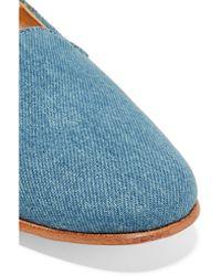 Dieppa Restrepo - Multicolor Denim Loafers - Lyst