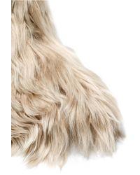 Maison Margiela - Natural Alpaca Ankle Boots - Lyst