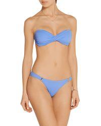 Melissa Odabash - Blue Martinique Bikini Briefs - Lyst