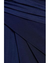 Raoul Blue Jersey Gown