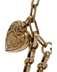 Etro - Metallic Gold-tone Necklace - Lyst