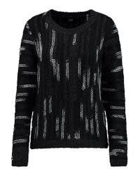 Line Black Becca High-low Sweater