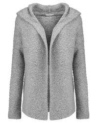 Joie Gray Hadwyn Knitted Hooded Cardigan