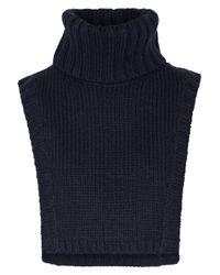 A.L.C. - Blue Brandt Wool-blend Turtleneck Dickie - Lyst
