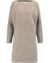 Rebecca Minkoff Multicolor Bass Merino Wool-blend Mini Dress