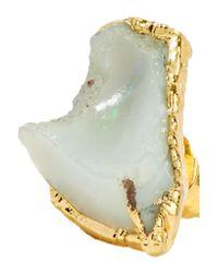 Dara Ettinger - Metallic Gold-plated Opal Earrings - Lyst