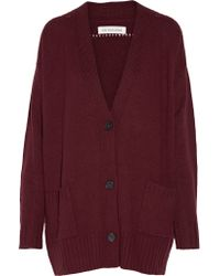 Étoile Isabel Marant | Red Marius Knitted Cardigan | Lyst