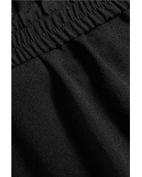 Étoile Isabel Marant Black Milena Crepe Mini Skirt