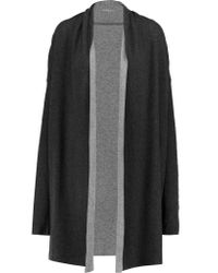 Majestic Filatures Multicolor Draped Cotton And Cashmere-blend Cardigan