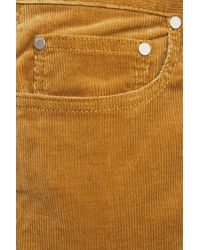 Joseph Natural Cropped Cotton-blend Corduroy Straight-leg Pants Camel