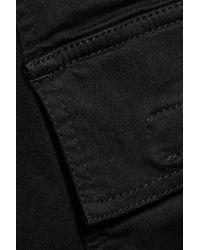 Rick Owens | Black Skirt-Style Wool-Blend Cropped Pants | Lyst
