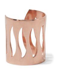 Aamaya By Priyanka   Pink Rose Gold-tone Ring   Lyst