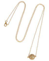 Iam By Ileana Makri - Metallic Gold-plated Diamond Necklace - Lyst